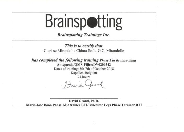Brainspotting 1