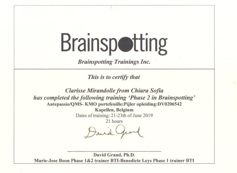 Brainspotting 2